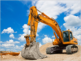 Excavator/earthmoving